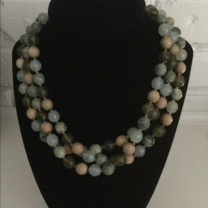 Tiered Cookie Lee bead necklace